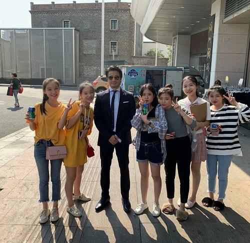 Teefa Goes To China