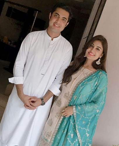 Iqrar ul Hassan With His Family-Pictures