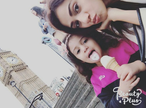 Tooba Siddiqui Is Enjoying With Her Family
