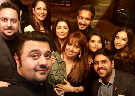 Ahmed Ali Butt Celebrated Birthday With Friends-Pictures