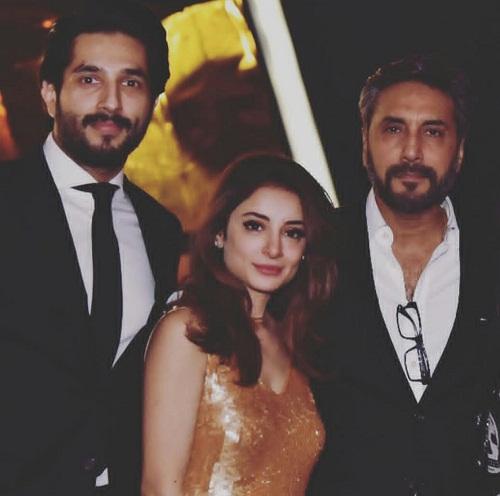 Sarwat Gillani And Fahad Mirza At A Party