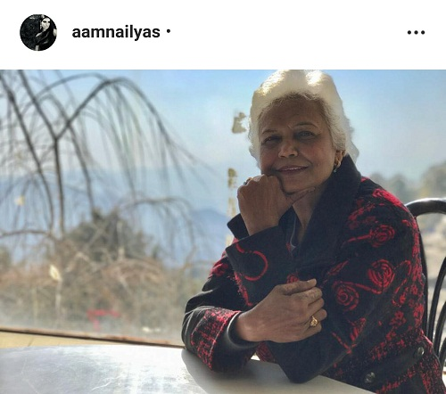 Amna Ilyas Has A Sweet Wish For Her Mother On Her Birthday