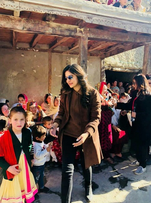 Sanam Baloch Is Enjoying In Gilgit