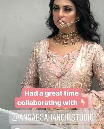 Sara Khan's BTS Shots From A Bridal Shoot