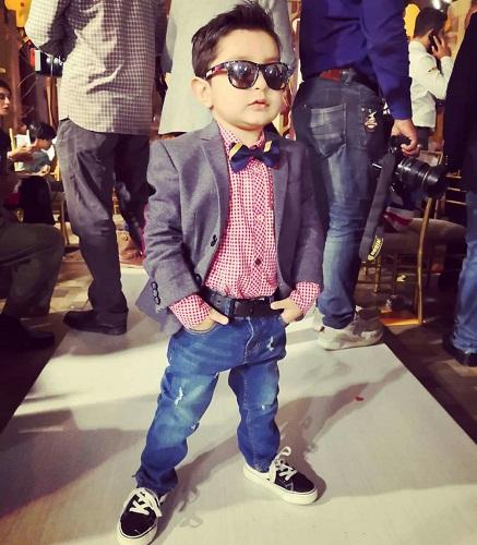 Ahmed Ali Butt's Son Walks The Ramp
