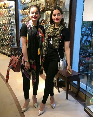 Aiman, Minal And Fiza Ali At An Event