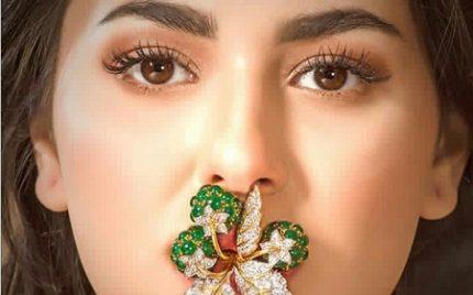 Hania Amir's Shoot For A Jewellery Brand