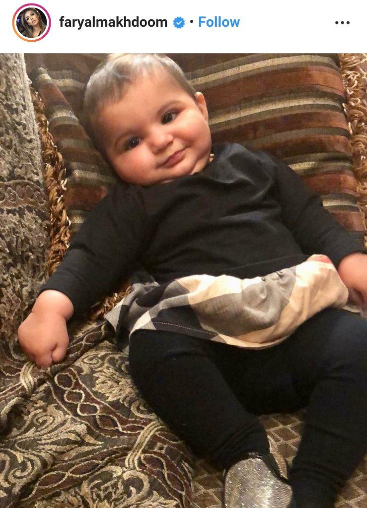 Faryal Makhdoom Introduces Alayna Khan To The World