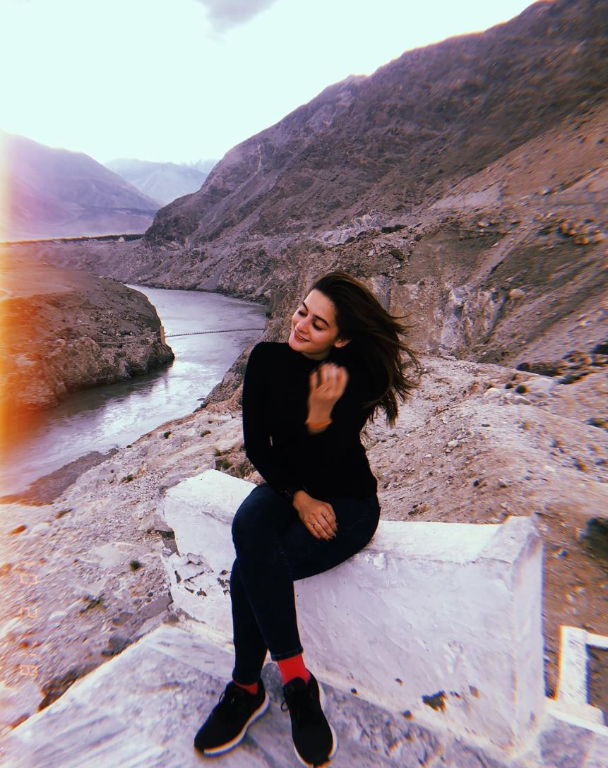 Latest Pictures Of Minal And Aiman Khan