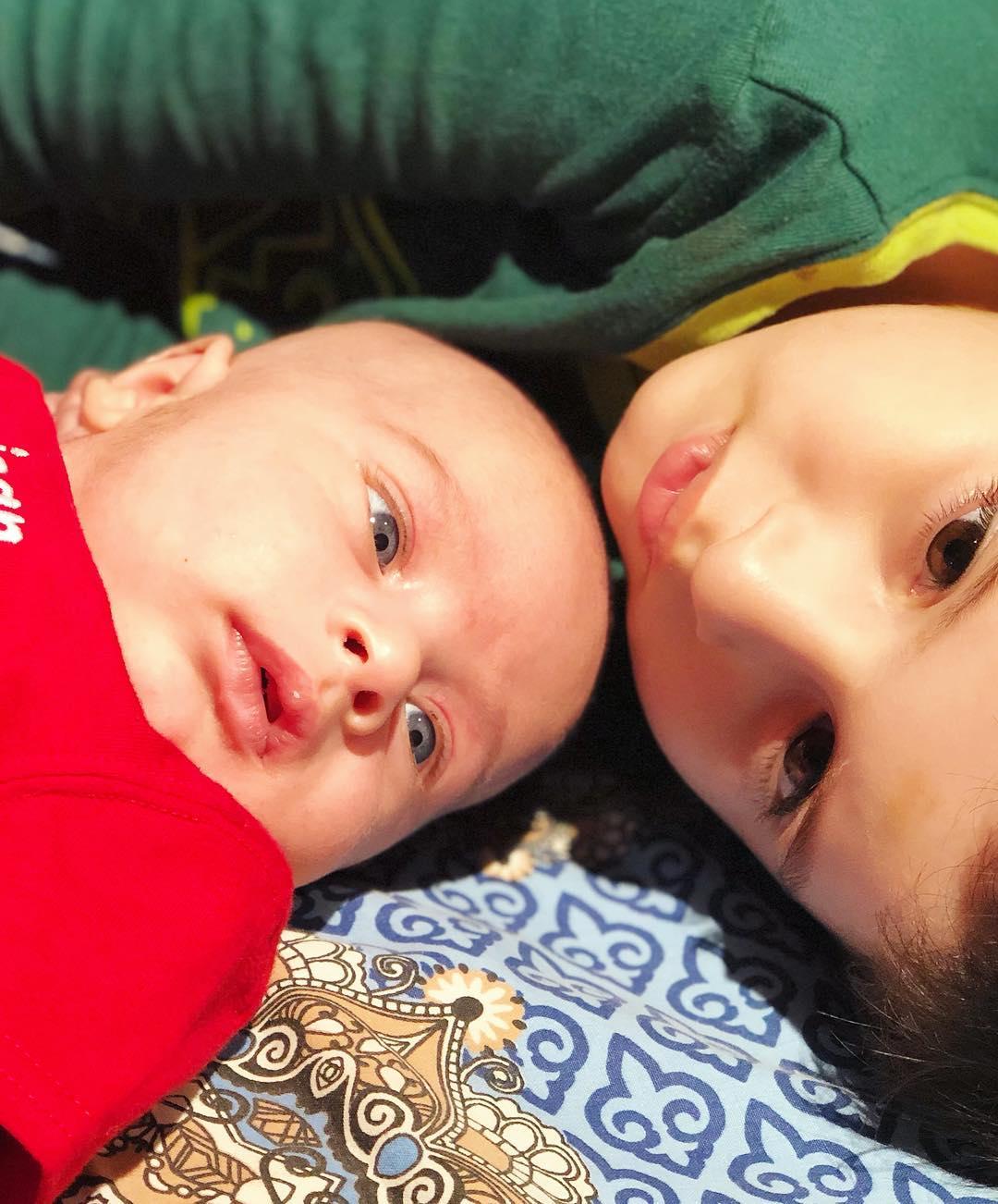 Fatima Effendi and Kanwar Arsalan New Born Baby Boy Pictures