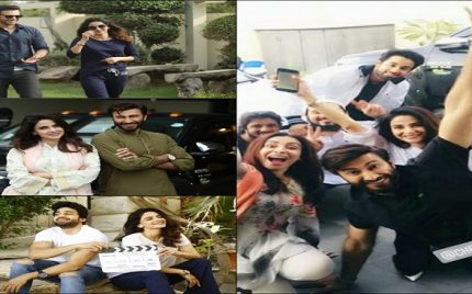Upcoming Drama's Cast Having Fun On The Set