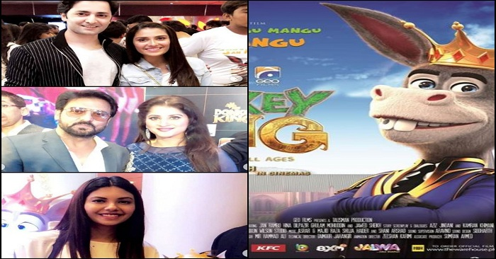 """Celebrities At The Premiere Release Of """"Donkey King"""""""