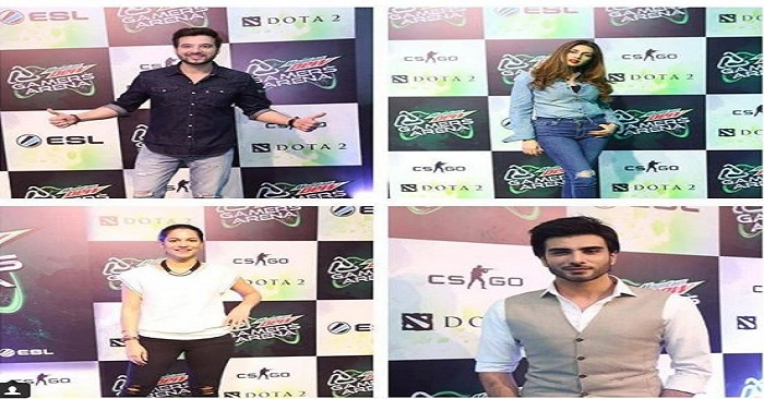 Star Studded Launch Event of Mountain Dew's Gamers Arena