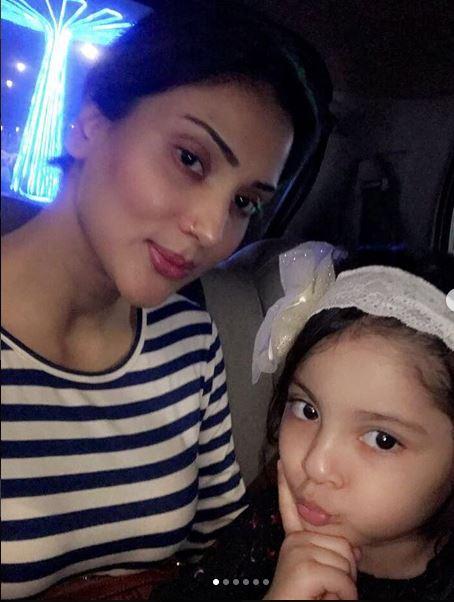 Faraal Wishing Her Mother Fiza Ali On Her Birthday