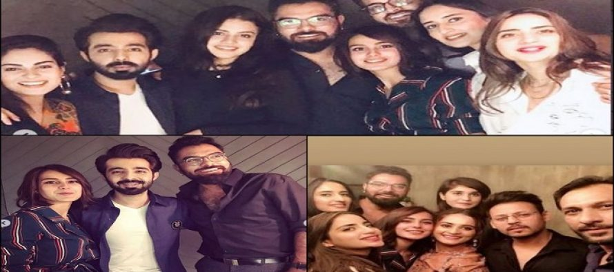 Celebrities At Hassan Hayat Khan's Birthday