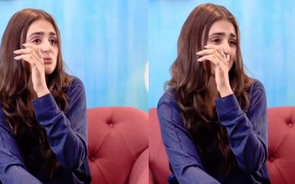 Hira Mani Cries On Samina Peerzada's Show And People Are Not Empathetic This Time