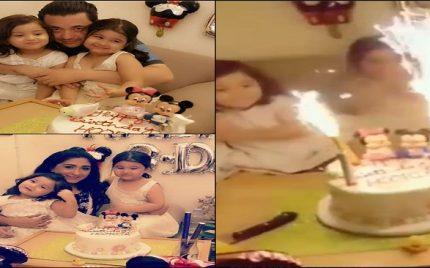 Hassan Noman And Madiha Rizvi Celebrated Birthday Of Their Daughter