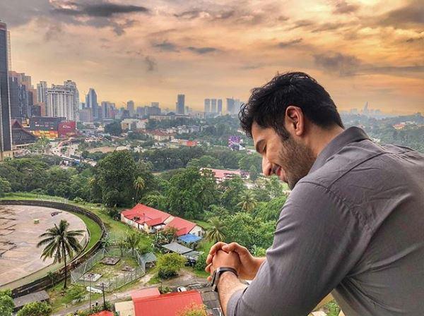 Muneeb Butt Having Fun With Ramsha Khan In Kuala Lumpur