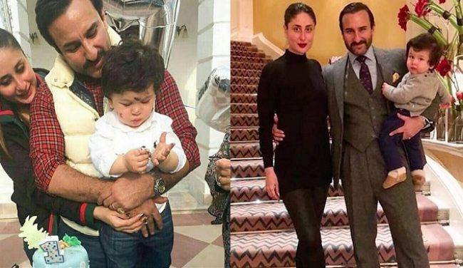 Latest Pictures Of Kareena Kapoor And Saif Ali Khan With Son