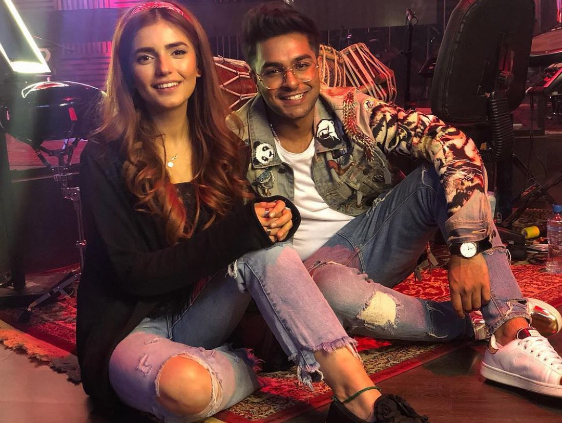 Asim Azhar Celebrates Birthday With Momina Mustehsan