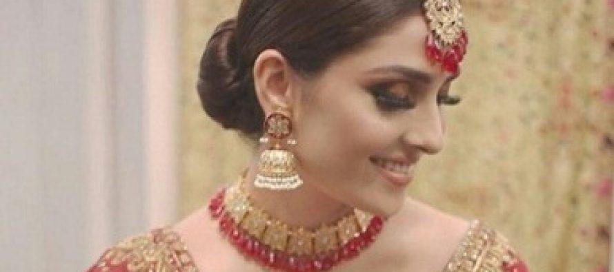 Ayeza Khan Dazzled At A Bridal Show