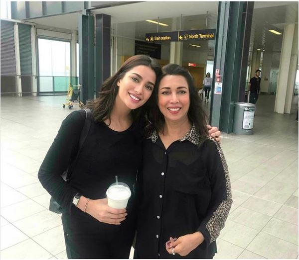 Mehwish Hayat Twinning With Her Mother
