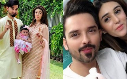Noman Habib's Latest Pictures With His Wife and Daughter