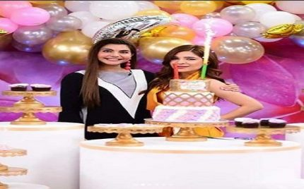 Ayesha Omar's Late Night Birthday Celebration