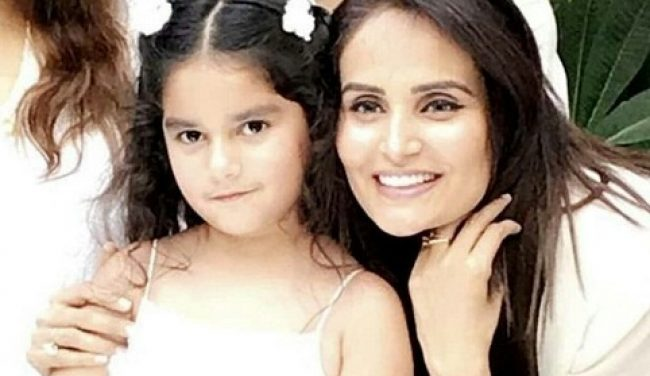 Mehreen Syed Celebrates Daughter's Birthday-Pictures