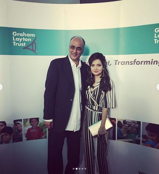 Armeena Rana Khan At A Fund Raising Event