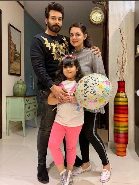 Faysal Qureshi Celebrates Birthday Of His Wife