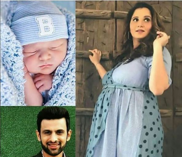 Shoaib Malik's Tweet On The News Of Birth Of Their Baby
