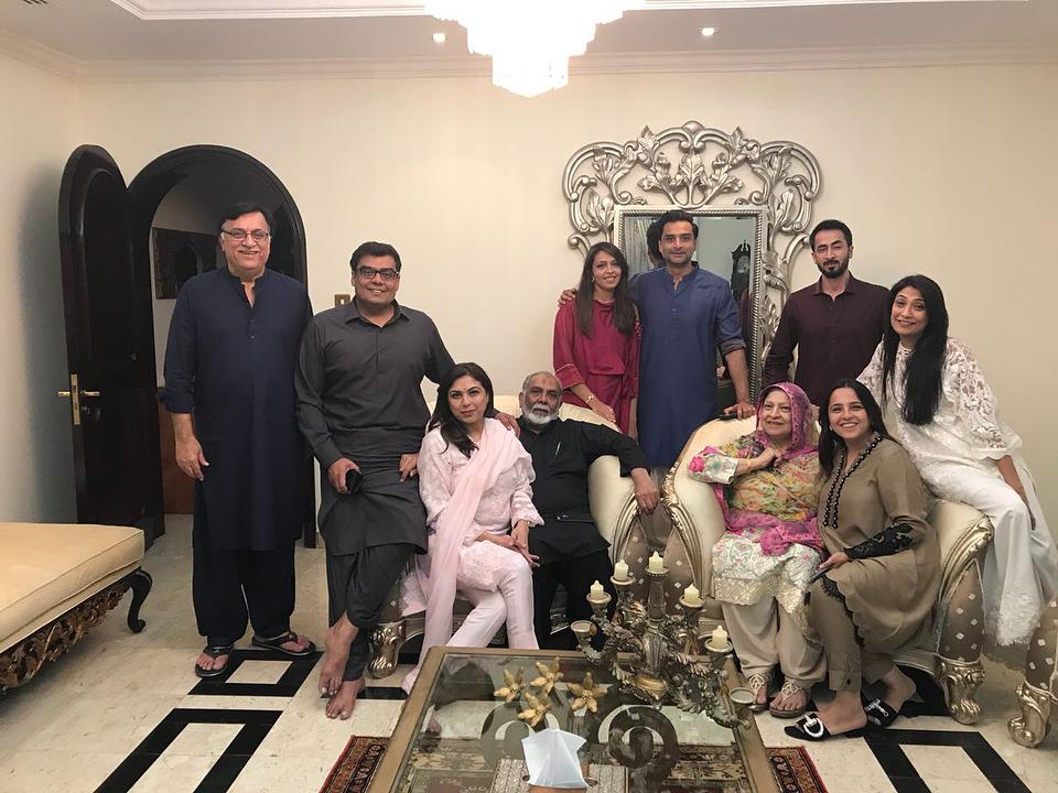 Salman Iqbal Celebrates His Birthday With His 1st Wife