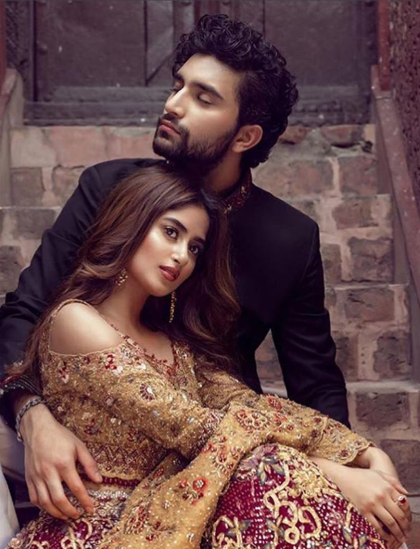 Ahad And Sajal Are Goals In This Bridal Shoot