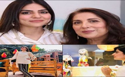 Sanam Baloch And Samina Peerzada Reach New Heights Together