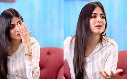Sanam Baloch Gets Emotional While Talking About Her Cousin's Death