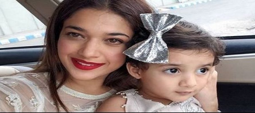 Sanam Jung Shares Precious Moments With Her Daughter
