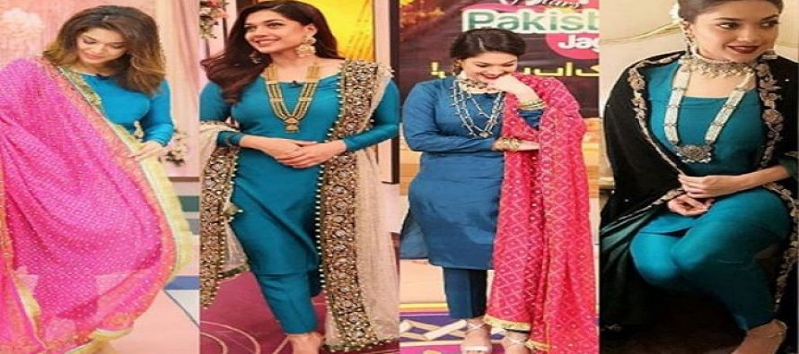 Four Times Sanam Jung Slayed In The Same Dress