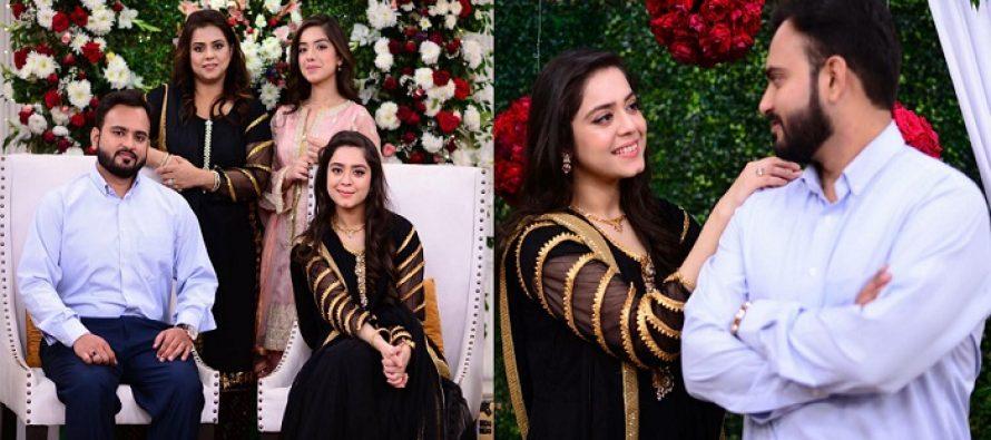 Sarah Razi And Her Husband on Good Morning Pakistan
