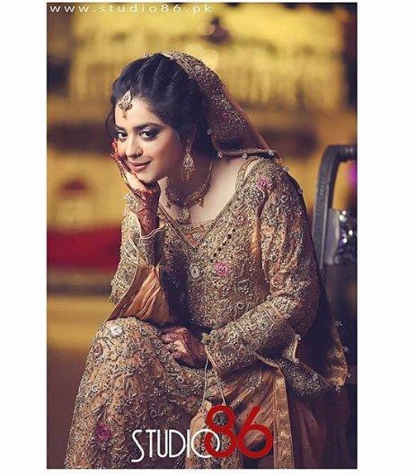 Sara Razi Khan Walima Professional Photoshoot