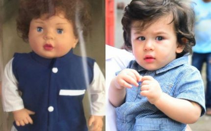 Taimoor Ali Khans Customized Doll; People React