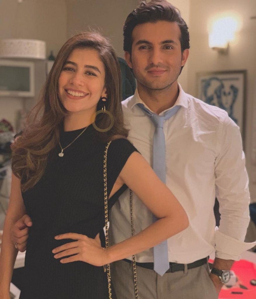 Syra and Shehroz Sabzwari In A Film Together