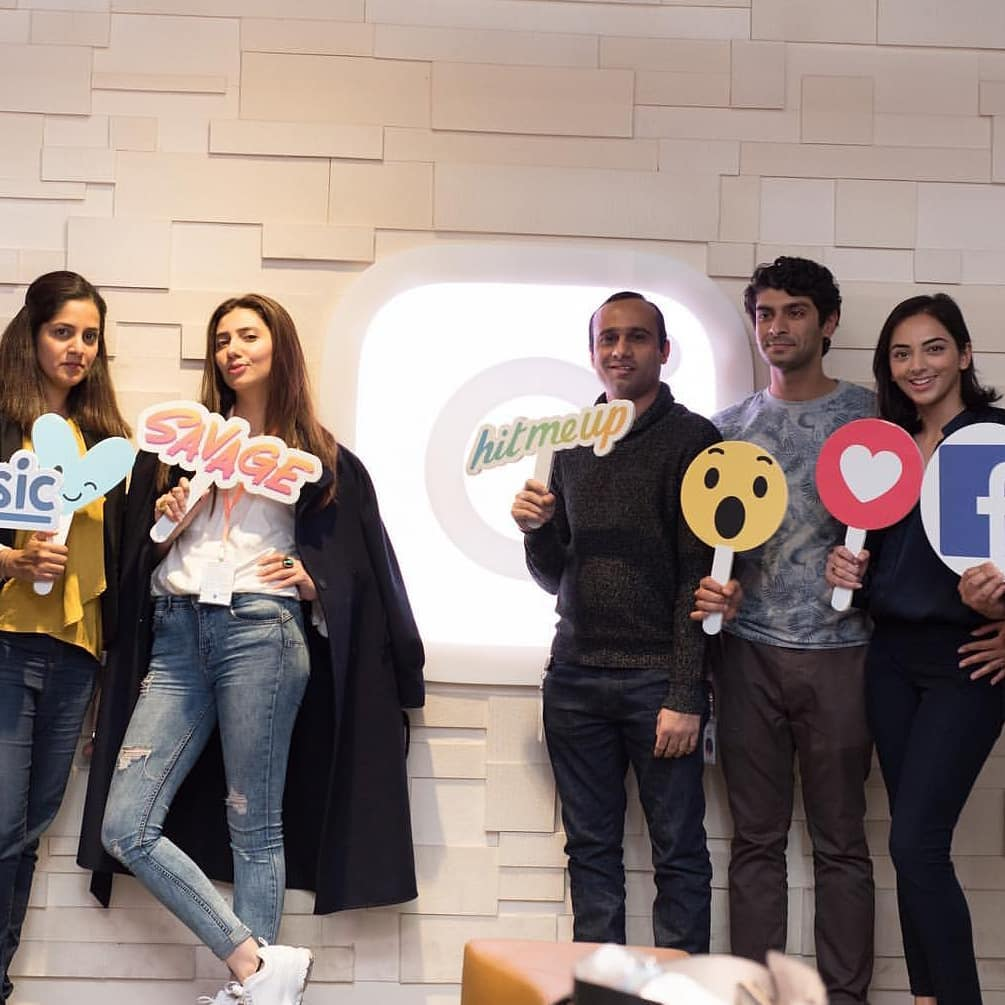 Mahira At Facebook Headquarters For Cancer Awareness Session
