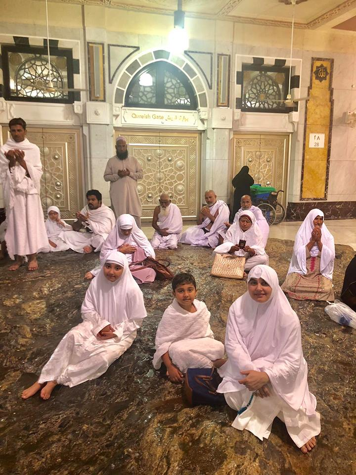 Javeria And Saud's Umrah Pictures With Kids Are Adorable