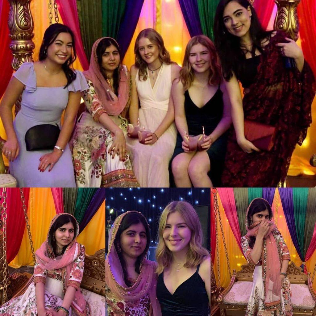Malala Celebrates Diwali With Her Friends