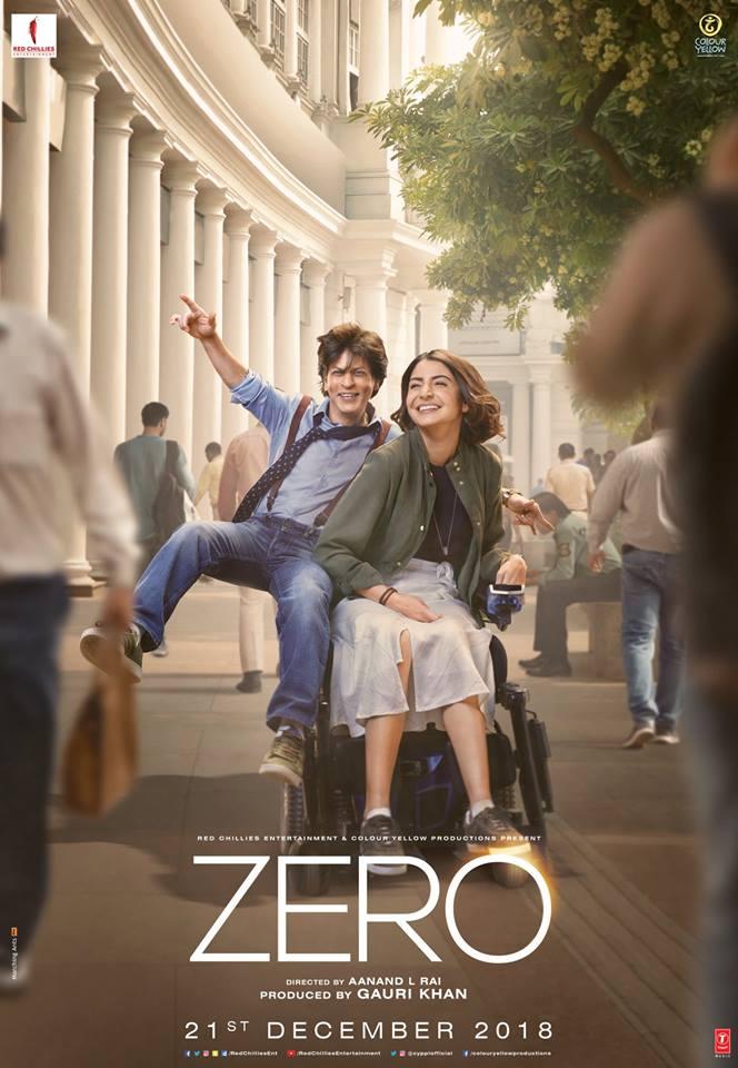 Shahrukh's New Film Zero's Trailer Out