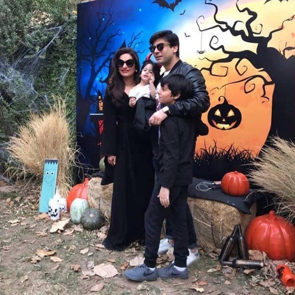 Fawad's Celebrates Daughter's Birthday