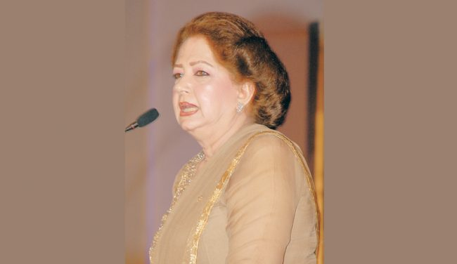 Former Film Star Zeba Suspended As Punjab Censor Board Chairman