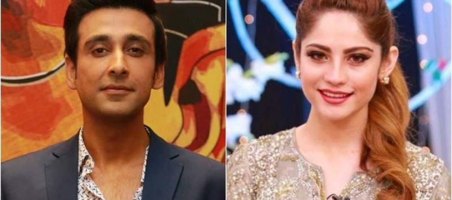 Neelam Munir And Sami Khan In Hyderabad For Wrong No 2
