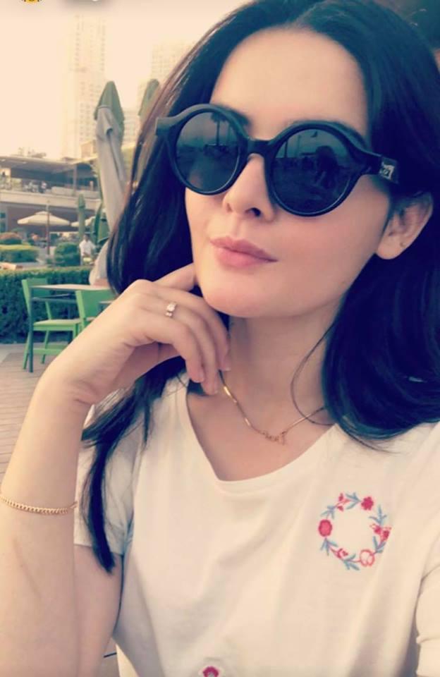 Aiman Khan In Dubai For Wedding Shopping